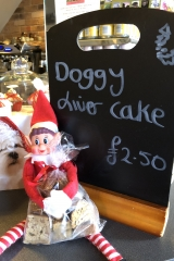 Our top cake liver cake available to buy at £2.50 a bag