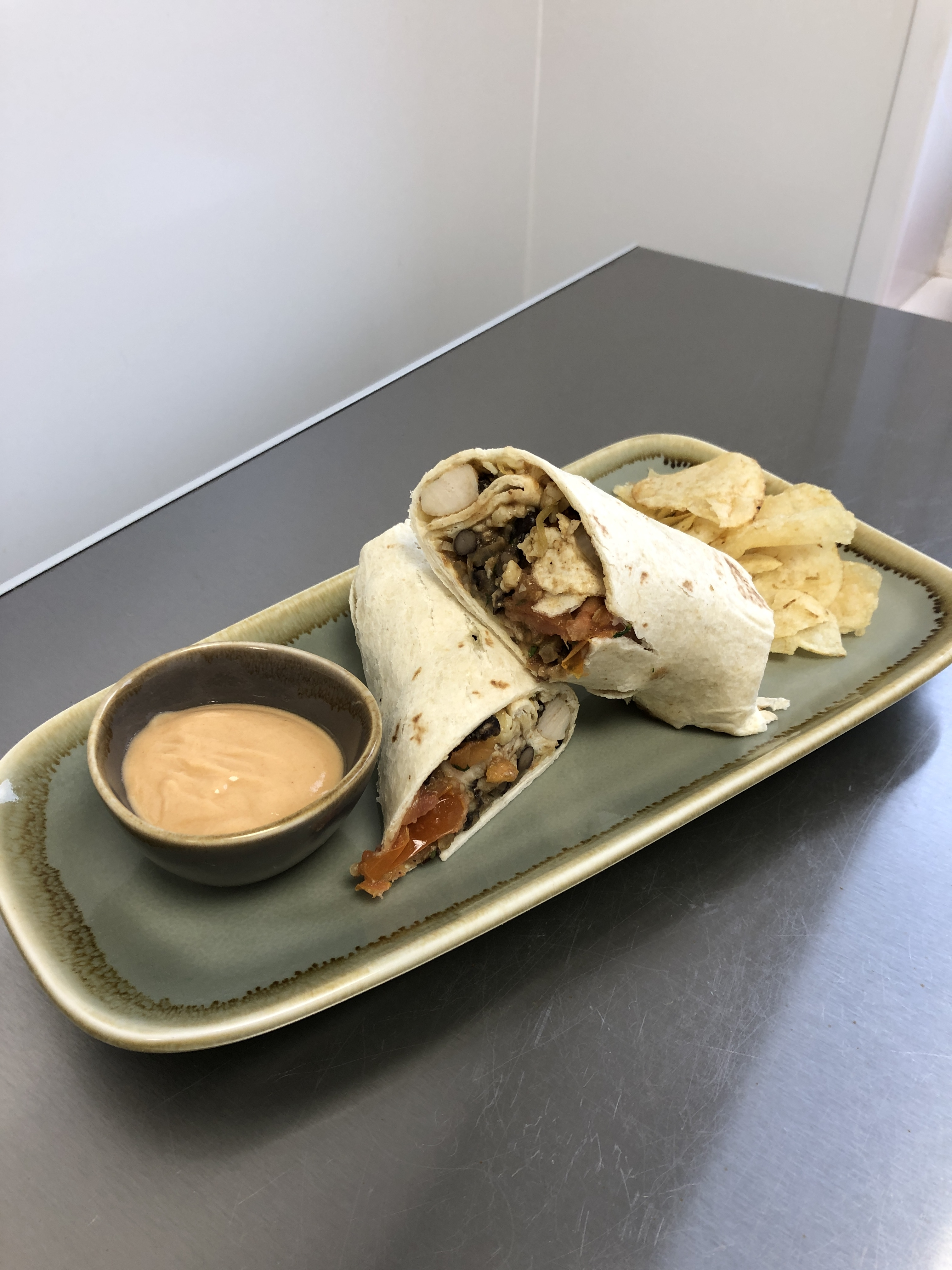 Special-of-the-week-spicy-mexican-bean-wrap