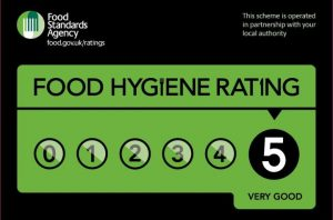Food Hygiene Rating 5 - Bean 47